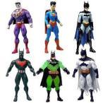 スーパーマン バットマン シリーズ 4 アクションフィギュア セット DC DIRECT - 6 フィギュアS - バット