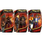 """バットマン UNLIMITED WAVE 1, 6"""" アクションフィギュア - バットマン, バットガール & ペンギン フィ"""