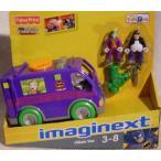 Imaginext バットマン Villian Van ジョーカー Mobile Goes with 限定 ジョーカー & ペンギン フィギュア