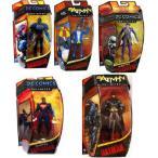 """DC Comics Unlimited 6"""" フィギュアセット: バットマン, スーパーマン, ペンギン, ジョーカー, & Da"""