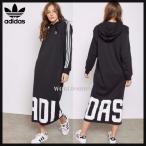 アディダス  パーカー マキシワンピ adidas Originals Oversized Hoodie Dress 海外 正規品