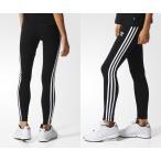 アディダス レギンス adidas Originals 3-Stripes Leggings ブラック【海外限定・正規品】