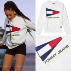 ショッピングsailing トミー ジーンズ メンズ レディース ロゴ TOMMY JEANS 90S SAILING LOGO スウェット シャツ 【海外限定・正規品】
