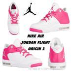 エア ジョーダン ナイキ スニーカー Nike Air Jordan Flight Origin 3 ホワイト/ピンク【海外限定・正規品】