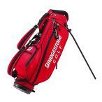 ブリヂストンゴルフ 軽量キャディバッグJr レッド(赤) スポーツ レジャー スポーツ用品