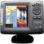 LOWRANCE ELITE-5魚群探知機 /ローランスエリート5/