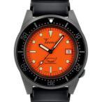 Squale(スクワーレ) 時計 ダイバーズウォッチ 1521-026-PVD-O オレンジ×ブラックPVD×ラバーベルト
