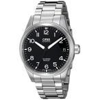 Orisメンズ' Big Crown ' Swiss AutomaticステンレススチールDress Watch ( Model : 75176974164?MB )