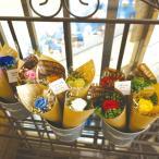 プリザーブドフラワー 母の日 プレゼント バラ お祝い 一輪のバラ ミニ ブーケ プチギフト ギフト 誕生日 入学祝い 卒業祝い 発表会 ワッフルコーン