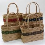 紙バンド手芸トライアルキット カラーバッグ とばし編みキット