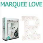 MARQUEE LOVE lettersLEDイニシャルライトオブジェマーキーライト マーキーレター369097 MARQUEE KIT R