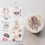 マスキングテープ 自己印 仙女丸 Coffee 30m×10m ZCI 3027180
