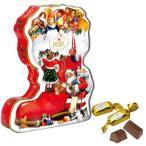 クリスマスお菓子 クリスマスノスタルジック ブーツ缶