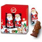 クリスマスお菓子 クリスマスサンタ ミルクチョコボックス