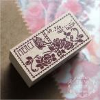 東京アンティーク スタンプ B2040KI-B  バラ園の切手