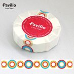 ロールシール Pavilio パビリオ レーステープ スタンダード バブルレッド ST-13-BR 15mm×10m