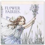 FLOWER FAIRIES フラワーフェアリースクエアメモ Lavender biue FF-103