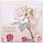 Flower Fairies フラワーフェアリーズ メモパッド スクエア Rose_pink
