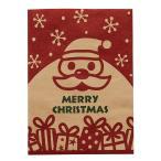 クリスマス 紙袋 角底袋 HEIKO シモジマ 柄小袋 18才 グッドフレンド 100枚
