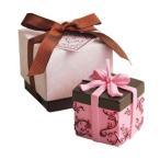 Yahoo!ラッピング倶楽部Yahoo!店PalaDec/パラデックバロエ デコレーション アロマキャンドル VRE-A ギフトボックス PK(ピンク)   ラベンダーの香り