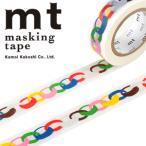 ネコポス対応 マスキングテープ mt x ミナ ペルホネン 1p ring・vivid 15mmx10m  MTMINA07