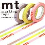 マスキングテープ  カモ井加工紙 MTSLIM16 mt slim deco A 3p 6mmx10m ネコポス対応