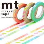 ネコポス対応 カモ井加工紙 MTSLIM20 マスキングテープ mt slim deco E 3p 6mmx10m