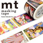 ショッピングマスキングテープ マスキングテープ マステ カモ井加工紙 mt × 横尾忠則 posters 37mmx7m MTYOKO02・1巻