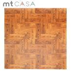 マスキングテープ  幅広mt CASA SHEET シート 床用 茶色い木床 460mm角 3枚パック MT03FS4602 カモ井加工紙