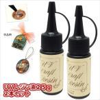 KIYOHARA/清原 レジンクラフト UVクラフトレジン液  紫外線硬化樹脂液  UVR 25g ×2本セット