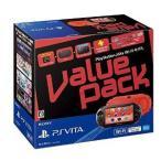 新品 PS VITA本体 PlayStation Vita Value Pack Wi-Fiモデル レッド ブラック
