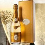 シャンパン・スパークリングワイン 化粧箱入り クリスタル ルイ・ロデレール 2012年 フランス シャンパーニュ 白 辛口 750ml wine 家飲み