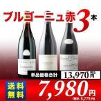 ショッピングワイン 赤ワインセット ブルゴーニュ赤3本セット 第13弾 送料無料 wine set