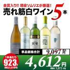 白ワインセット 現役ソムリエの売れ筋白ワイン5本セット 第5弾 wine set