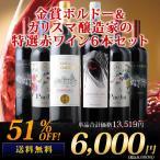 ワイン 赤ワインセット 特選ソムリエ赤6本セット 第13弾 送料無料 wine set