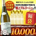 SALE  ワイン 福袋   白ワインセット「F16」極上ブルゴーニュ入り!ソムリエ上質お年玉福袋・白ワイン6本 送料無料 wine set 家飲み 飲み比べ