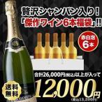SALE ワイン ワインセット ミックス 「10」シャンパン&ブルゴーニュ赤白泡4本福袋 送料無料 泡1本&赤2本&白1本