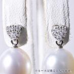 高級感のあるパヴェダイヤが耳元でキラリ ピアス金具
