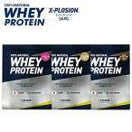 エクスプロージョン プロテイン 100%ホエイプロテイン 選べる3個セット 3kg 日本製 男性 女性 X-PLOSION