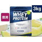 プロテイン エクスプロージョン 100%ホエイプロテイン メロン味 3kg 日本製 男性 女性 X-PLOSION 送料無料