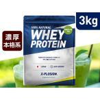 プロテイン 3kg エクスプロージョン 100%ホエイプロテイン 抹茶オレ味 日本製 男性 女性 X-PLOSION 3キロ