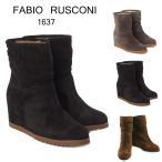 ファビオ ルスコーニ インヒールショートブーツ FABIO RUSCONI F1637 VELOUR 選べるカラー