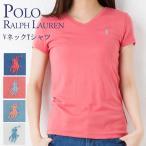 ポロ ラルフローレン レディース ガールズライン VネックTシャツ POLO RALPH LAUREN 313656473 選べるカラー