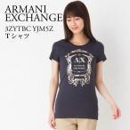 アルマーニエクスチェンジ レディース Tシャツ ARMANI EXCHANGE DARK GRAY 3ZYTBC YJM5Z