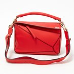 ロエベ LOEWE バッグ 2WAYバッグ 322.30.K79-7931 Primary Red 【Puzzle Small】