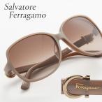 FERRAGAMO フェラガモ サングラス 615SA 266 ブラウン系