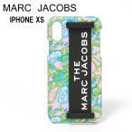 マークジェイコブス iPhone XS ケース 【SILICONE PHONE CASE】 M0015903 651 PINK MULTI MARC JACOBS
