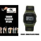 Freestyle サーフィン シャーク 腕時計 SHARK CLASSIC NYLON KK/BK 防水 サーフウォッチ フリースタイル 時計 基本送料無料