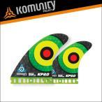 Komunity フューチャー フィン クアッドフィン KP2.0 FUTURE 4fin ダークグリーン コミュニティ サーフィン サーフボード 基本送料無料