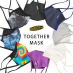 KEEN キーン マスク TOGETHER MASK 2枚入り 洗えるマスク コットン おしゃれ 日本正規品